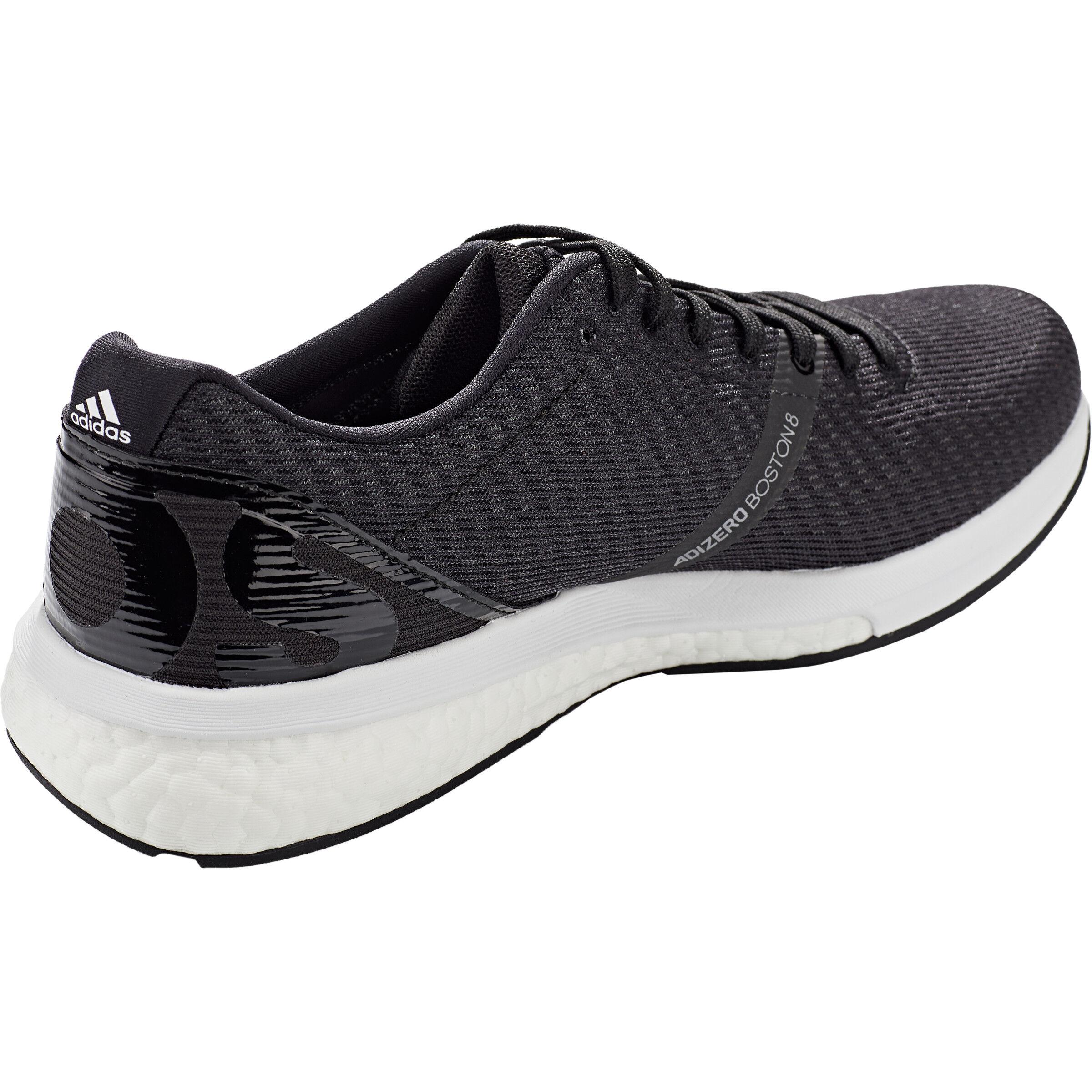 adidas Adizero Boston 8 Low Cut Schuhe Herren core blackfootwear whitegrey six
