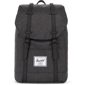 Herschel Retreat Backpack 19,5l black crosshatch/black black crosshatch/black