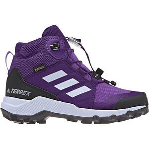 adidas TERREX Mid GTX Shoes Kinder actpur/aero blue/trupnk actpur/aero blue/trupnk