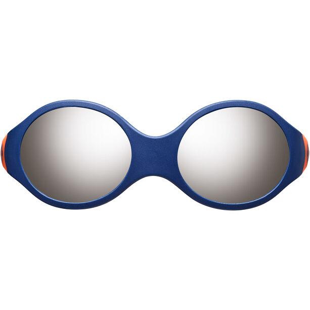 Julbo Loop M Spectron 4 Sonnenbrille Kinder blue/orange/grey flash silver