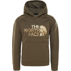 The North Face Surgent Pullover Hoodie Jungs new taupe green/new taupe green desert youth print new taupe green/new taupe green desert youth print