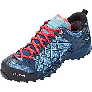 SALEWA Wildfire GTX Shoes Damen poseidon/capri poseidon/capri