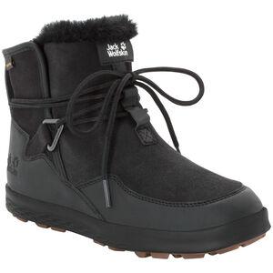 Jack Wolfskin Auckland WT Texapore Stiefel Damen black/black black/black