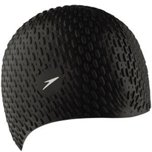 speedo Bubble Cap black black