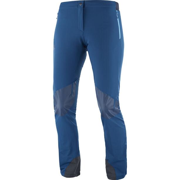 Salomon Wayfarer Mountain Pants Damen poseidon