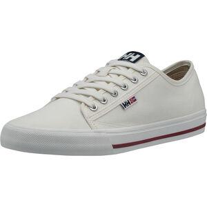 Helly Hansen Fjord Canvas V2 Shoes Herren off white/navy/plum off white/navy/plum