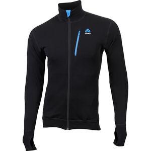Aclima DoubleWool Jacket Herren jet black/tornado/brilliant blue jet black/tornado/brilliant blue
