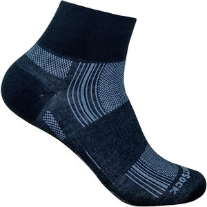 Wrightsock Stride Quarter Socks black black