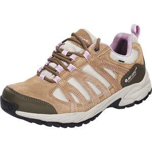 Hi-Tec Alto II Low WP Shoes Damen light taupe/grey/horizone light taupe/grey/horizone