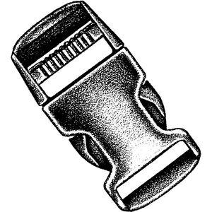 National Molding Plastic fastener 2 Stück mit Karte