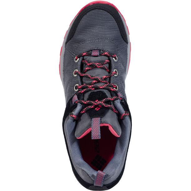 Columbia Fire Venture Textile Schuhe Damen graphite/sunset red