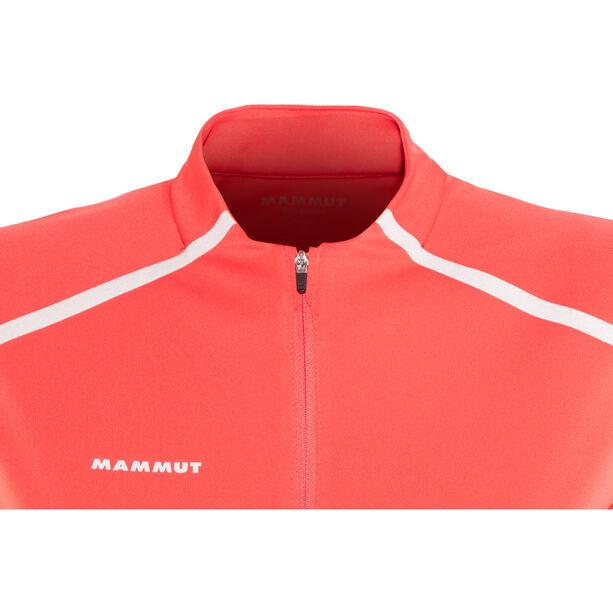Mammut Atacazo Light Zip T-Shirt Damen barberry
