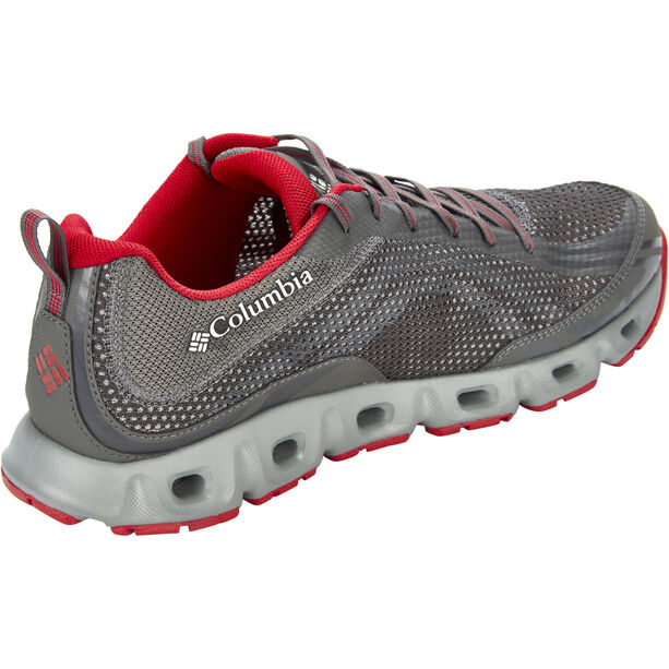 Columbia Drainmaker IV Shoes Herren city grey/mountain red