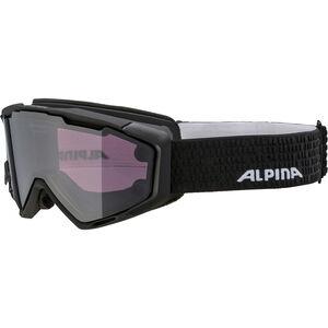 Alpina Panoma Magnetic Q+S S1+S3 Googles black matt black matt