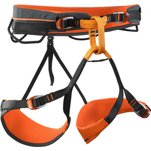 Skylotec Basalt 2.0 Allround-Klettergurt schwarz-orange schwarz-orange
