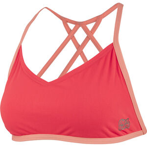 speedo Neon Freestyler Top Damen red/orange red/orange