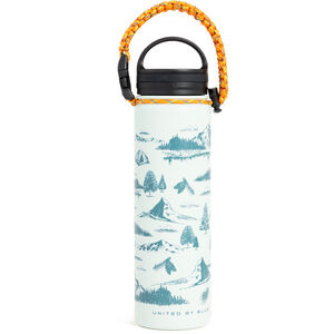 United By Blue Mountain Vista Stainless Steel Bottle 650ml green green