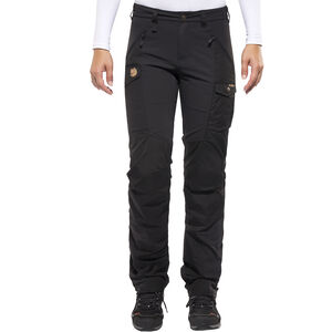 Fjällräven Nikka Curved Trousers Damen black black