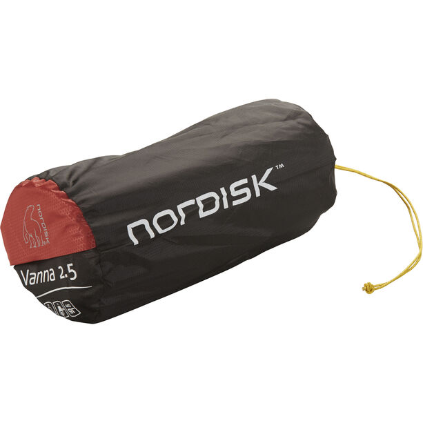Nordisk Vanna 2.5 Self-Inflatable Mat burnt red/black