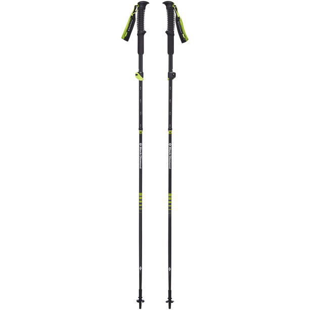 Black Diamond Distance Carbon Z Acc-Ready Trekking Poles wasabi