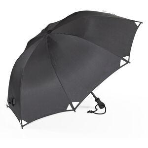 EuroSchirm Birdiepal Outdoor Regenschirm schwarz/reflective schwarz/reflective