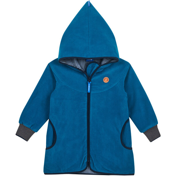 Finkid Simpukka Zip in Fleece Innenjacke Kinder seaport/navy