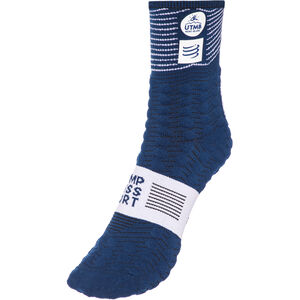 Compressport Pro Racing V3.0 Ultra Trail UTMB 2019 Socken blue blue