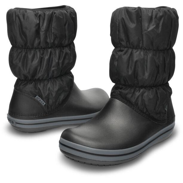 Crocs Winter Puff Stiefel Damen black/charcoal