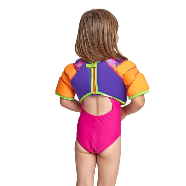 Zoggs Sea Unicorn Water Wing Vest Kinder pink
