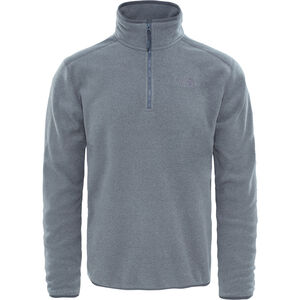 The North Face 100 Glacier 1/4 Zip Herren tnf medium grey heather/high rise grey tnf medium grey heather/high rise grey