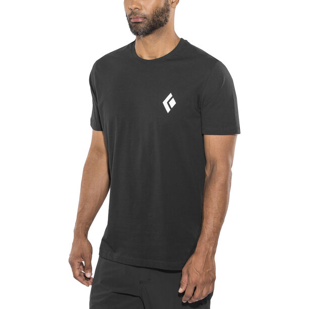 Black Diamond Equipment for Alpinist SS Tee Herren black