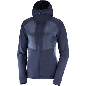 Salomon Grid FZ Midlayer Damen night sky night sky