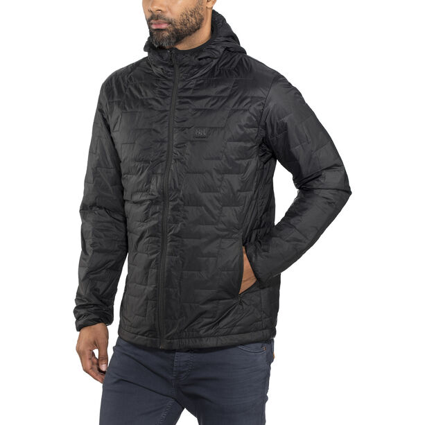 Helly Hansen Lifaloft Hooded Insulator Jacket Herren black matte