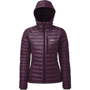 Rab Microlight Alpine Jacket Damen eggplant/rococco eggplant/rococco