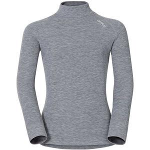 Odlo SUW Active Originals Warm Rollkragen Langarmshirt Kinder grey melange grey melange