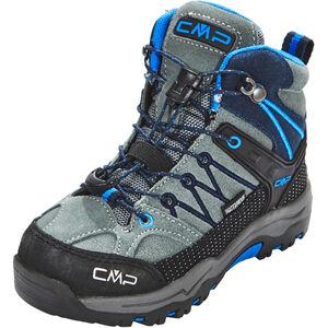 CMP Campagnolo Rigel Mid WP Trekking Shoes Kinder grey-zaffiro grey-zaffiro