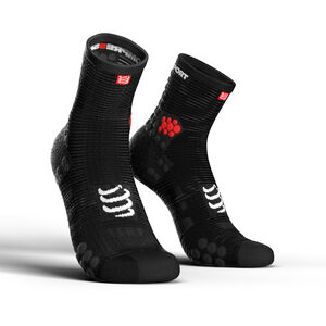 Compressport Pro Racing V3.0 Run High Socks black black