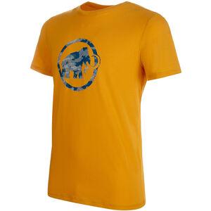 Mammut Logo T-Shirt Herren golden PRT1 golden PRT1