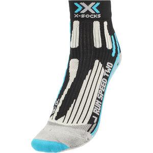 X-Socks Run Speed Two Socks Damen black/turquoise black/turquoise