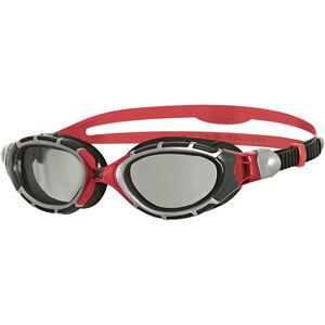 Zoggs Predator Flex Goggles Polarized Reactor grey/red/black grey/red/black