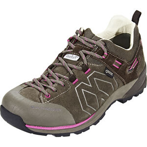 Garmont Santiago Low GTX Hiking Low Cut Shoes Damen brown/fucsia brown/fucsia