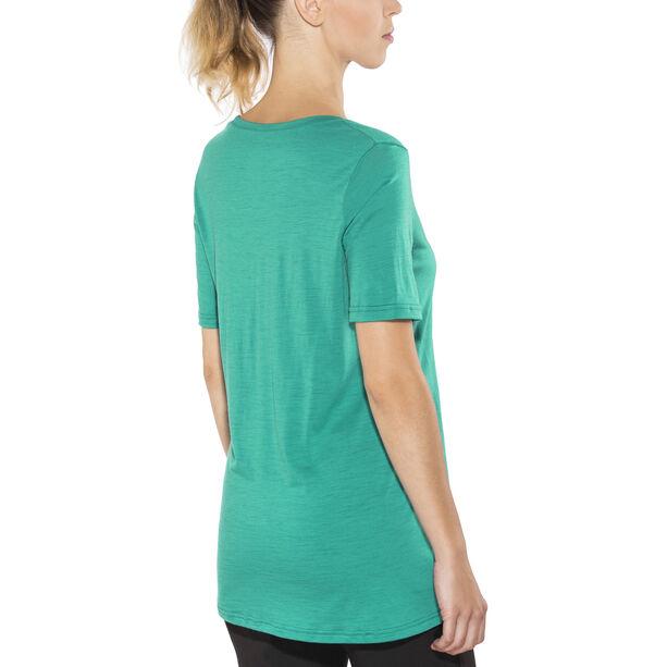 Aclima LightWool Loose Fit T-Shirt Damen harbor blue