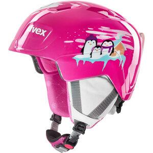 UVEX Manic Helm Kinder pink penguin pink penguin