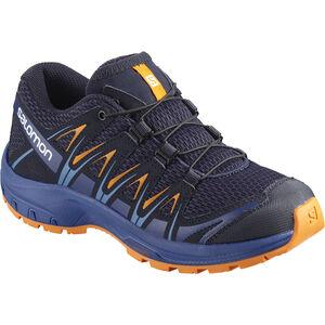 Salomon XA Pro 3D Shoes Kinder medieval blue/mazarine blue wil/tan medieval blue/mazarine blue wil/tan