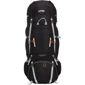 CAMPZ Mountain Pro 80+10L Rucksack schwarz schwarz