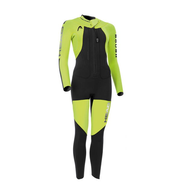 Head Swimrun Rough 4.3.2 Wetsuit Damen yellow/black