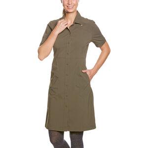 Tatonka Jorana Dress Damen bark green bark green