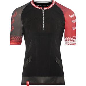 Compressport Trail Running SS Shirt black black