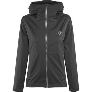 Black Diamond Stormline Stretch Rain Shell Jacket Damen black black