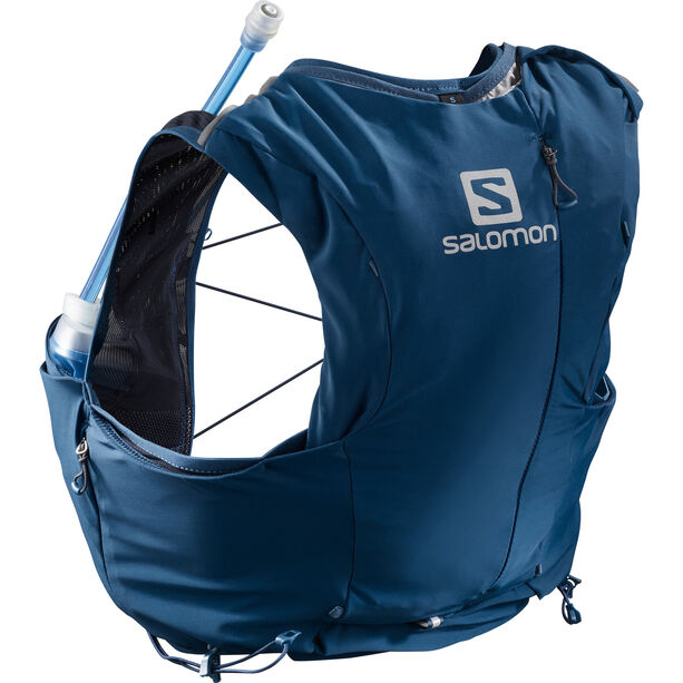 Salomon Adv Skin 8 Backpack Set Damen poseidon/night sky